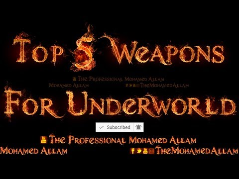 Shadow Fight 2 - Top 5 Weapons For UnderWorld