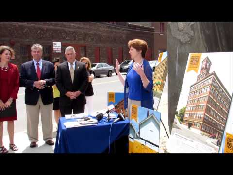 Mayor Sheehan on the Industrial Heritage Reuse Project