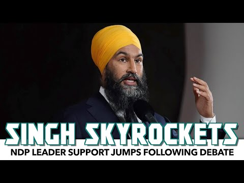 Jagmeet Singh's Support Skyrockets Following Debate