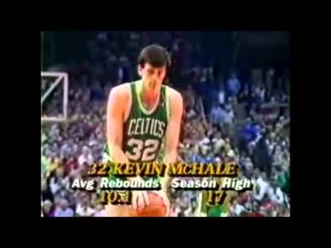 Kevin McHale: 37 Points Vs Portland (2-13-1987)