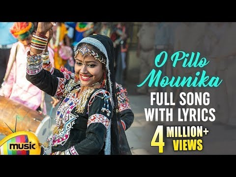 O Pillo Mounika Full Song With Lyrics  Best Telangana Dj Folk Songs  Ravi Nayak  Mango Music