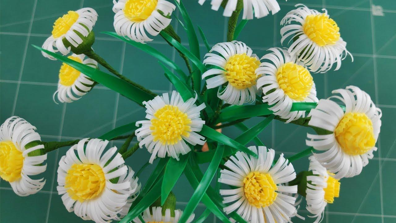 Diy crafts paper flowers daisies youtube diy crafts paper flowers daisies izmirmasajfo