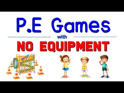 P.E Games NO Equipment   Part 4
