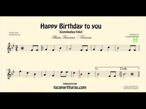 Happy Birthday Sheet Music for Recorder