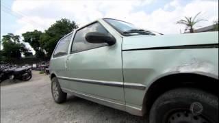 Domingo Espetacular apresenta os veículos com milhares de multas