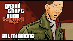 GTA Chinatown Wars - All Missions Walkthrough
