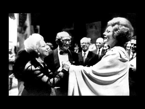 Tebaldi and Simionato interview about Toscanini