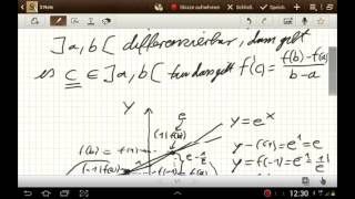 Der Mittelwertsatz und der Zwischenwertsatz der Analysis