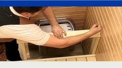 Sauna 7/10 - Kiuas ja kaide