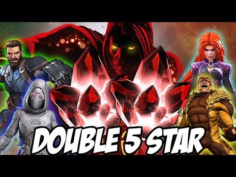 Double 5 Star Crystal Opening | Marvel Contest Of Champions