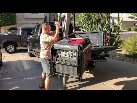 ⚡ E1.14 Installing Lift Kit for a Honda EU7000is Generator