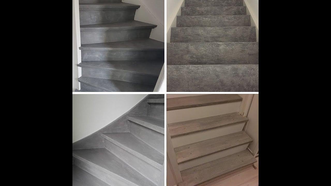 Genoeg Basispakket: Betonlook verf voor een betonlook trap JK99