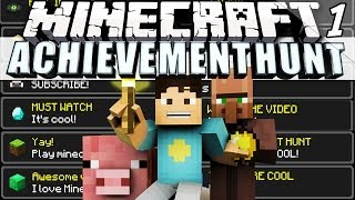 Minecraft: ACHIEVEMENT HUNT Ep.1 NO TIME TO WASTE!