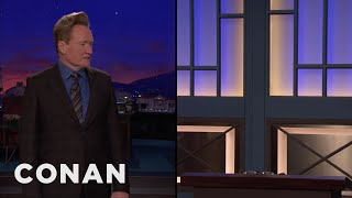 Andy Retires In The Middle Of Conan's Monologue  - CONAN on TBS