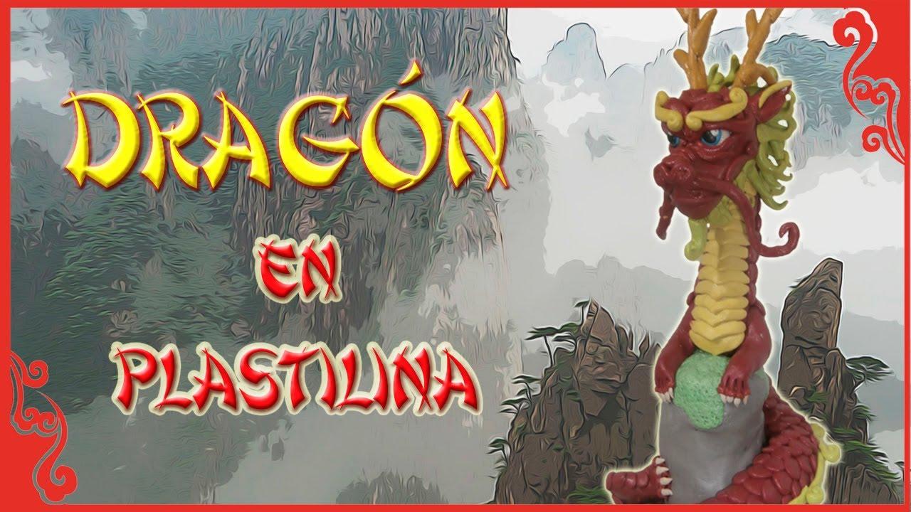Mitología China: Cómo hacer al Dragón Chino en plastilina -¡Especial 1,000 suscriptores!-