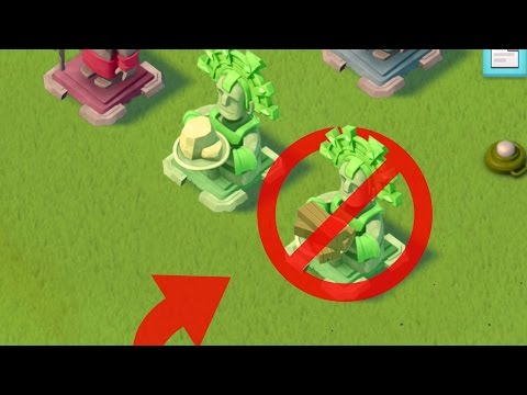 Boom Beach Worst Statues To Place! Life Statues Vs Resource Reward Statues! (Tutorial!)