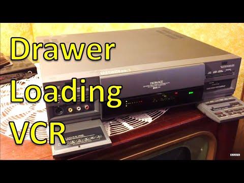 Toshiba SVHS SV-771 Diomage VCR Drawer Loading