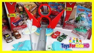 Juguetes de Cars Coches Cars Rayo McQueen - Mate - Nigel Gearsley - Kabuto ToysForKidsHD