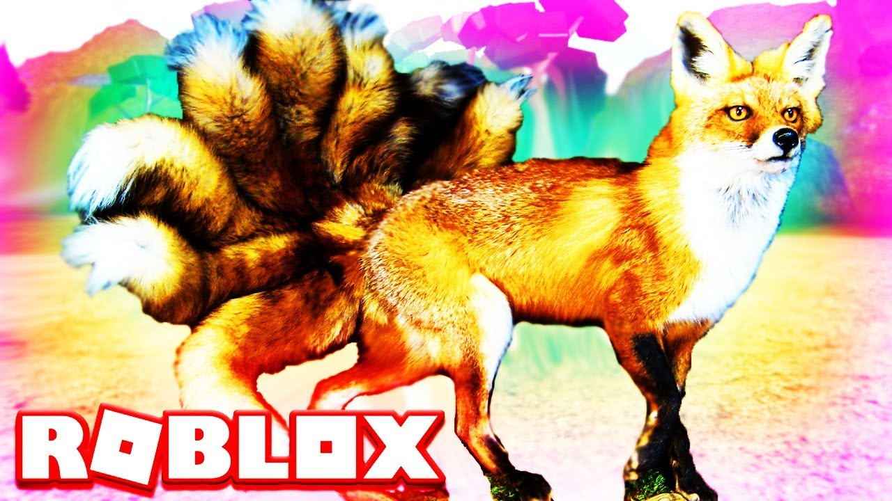 Did You See The Nine Tailed Fox Yet? Roblox Kitsune (Farm World) Animals
