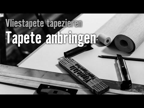 Version 2013 Vliestapete Tapezieren - Kapitel 2: Tapete Anbringen | HORNBACH Meisterschmiede