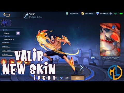 Mobile Legends : Skin Ideas : Valir-Portgas D. Ace