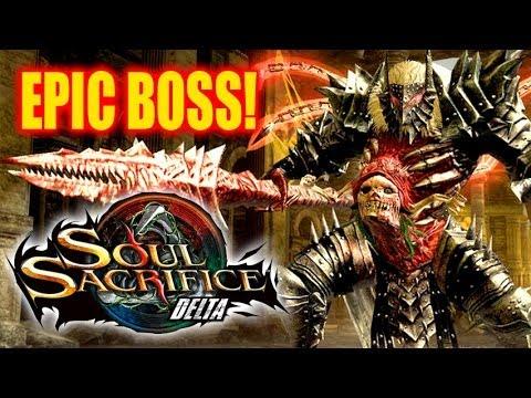 Soul Sacrifice Delta Gameplay - Akazukin! Epic Boss Fight!
