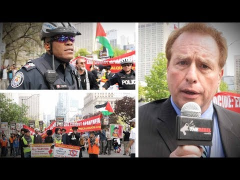 Al Quds In Toronto: Police Stop Traffic For Israel-haters' Illegal March | David Menzies