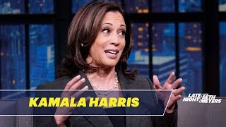 Sen. Kamala Harris Talks About Why She Loves Iowa and Maya Rudolph Impersonating Her
