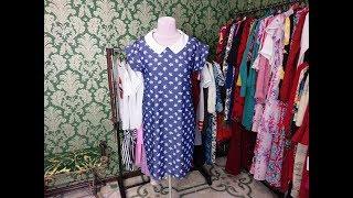 Джинсовое платье с воротником. Анонс урока