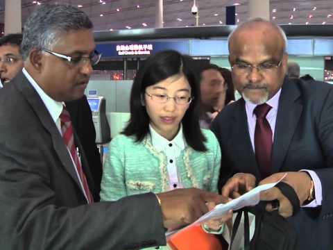 Inaugural flight to Beijing - 2013