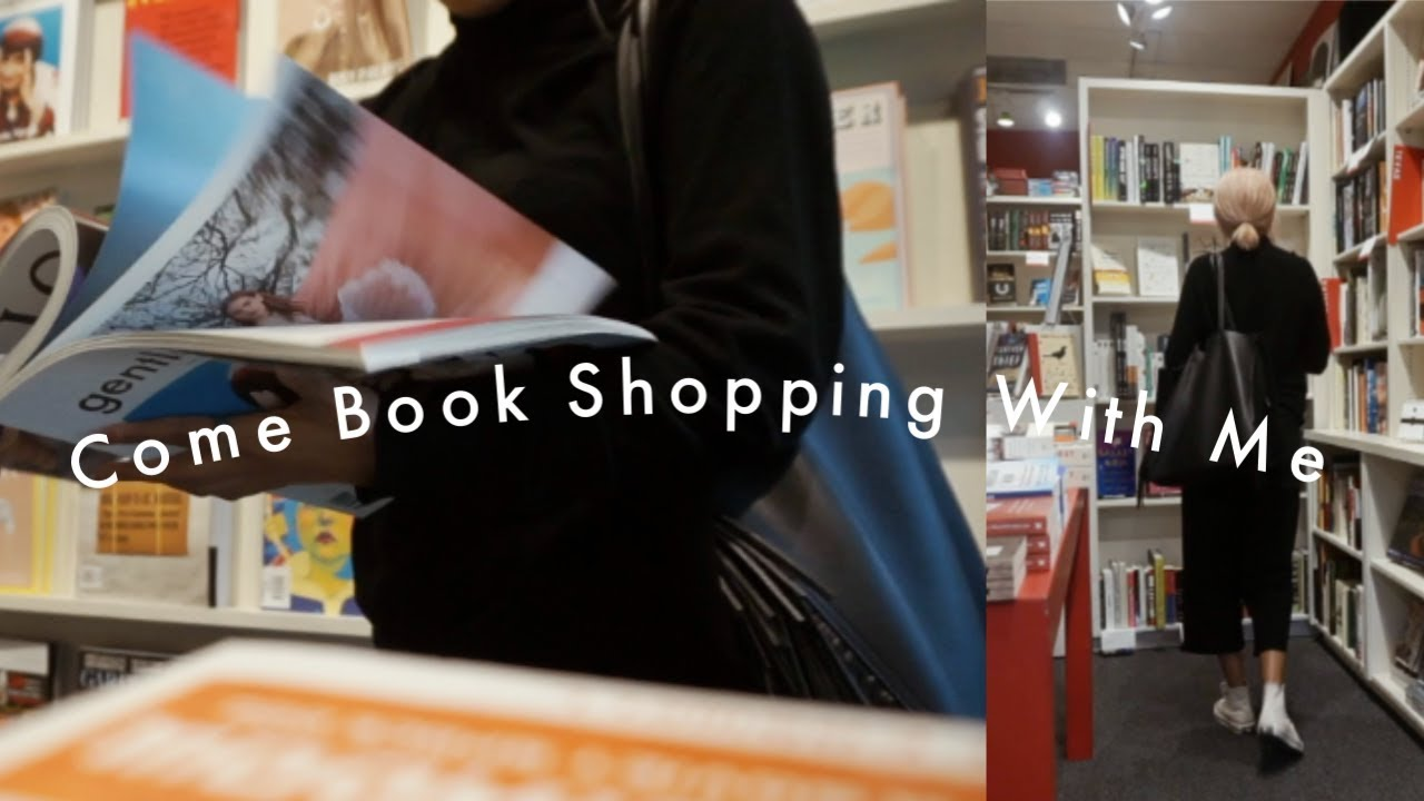 Come Book Shopping With Me| Vlog