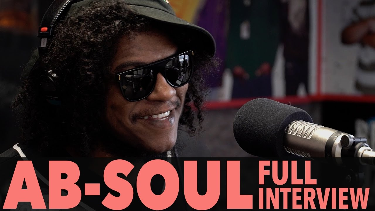 """Download Ab Soul on New Album """"Do What Thou Wilt"""", TDE, And More! (Full Interview)   BigBoyTV"""