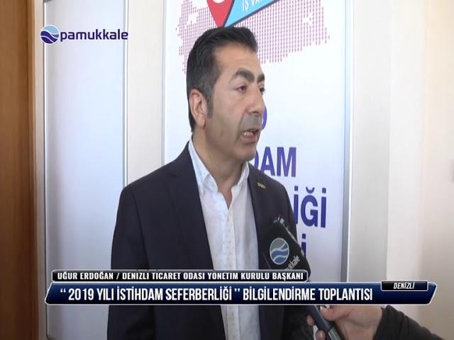 Pamukkale TV İstihdam Toplantısı 05 03 2019