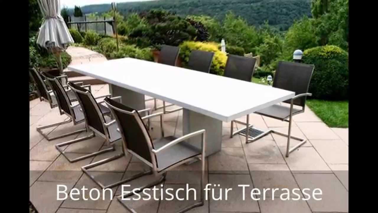 Betonmbel Selber Machen With Betontische Tische Aus Beton Stahl Und Holz Betontisch Also Bauen
