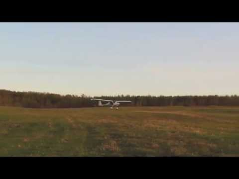 Pipistrel Virus SW rough and hilly field takeoff