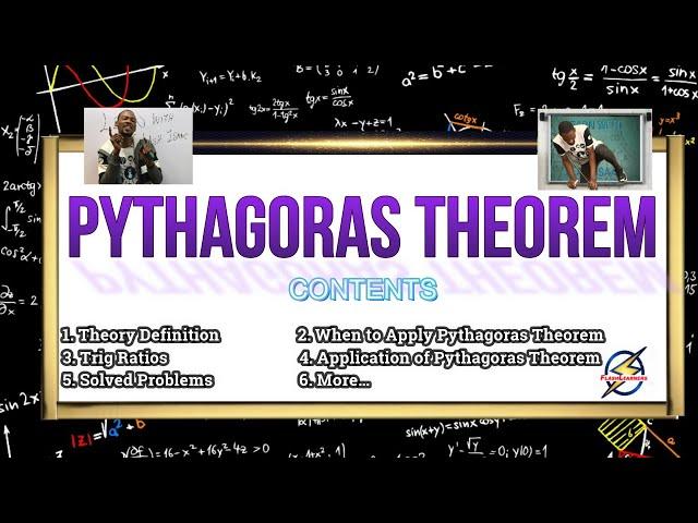 Pythagoras Theorem Explained With Examples