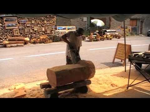 Fabrication d 39 une fontaine en m l ze youtube - Fabrication d une chaise en bois ...