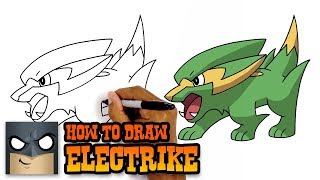 How to Draw Electrike | Pokemon | Awesome Step-by-Step Tutorial