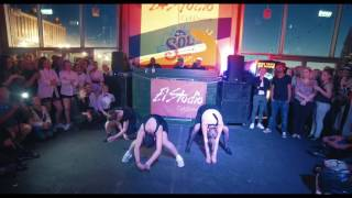 Dancehall show ved elever fra ElStudio.dk (let øvet- øvet)