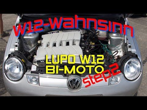 Lupo W12-Bi-Moto - Das erste Rollout / 24 Zylinder, 12 Liter Hubraum, 900 PS