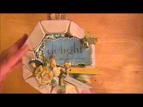 Altered Vintage Wood Light Switch Cover