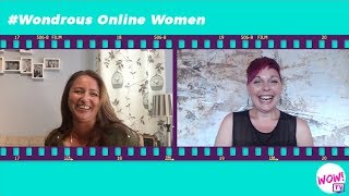 Angèle Cristina for WOW TV interviews Karen Baines - Conscious Karmic Creation Coach