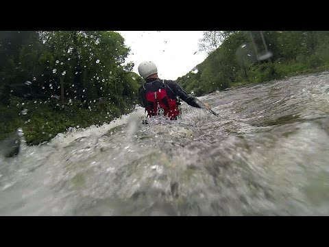 Symonds Yat Rapids with a Greenland Sea Kayak - River Wye