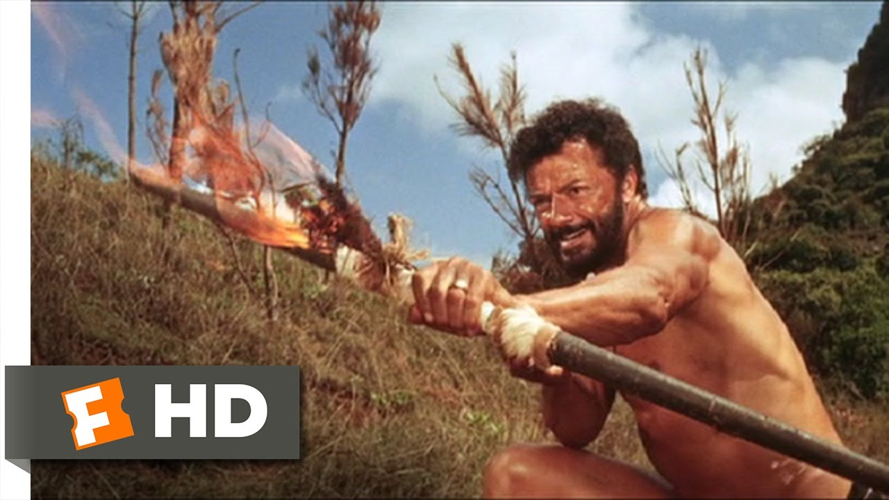 The Naked Prey 59 Movie Clip Fighting With Fire 1966 Hd