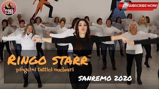 SANREMO 2020 || Pinguini Tattici Nucleari - RINGO STARR || balli di gruppo || line dance easydance