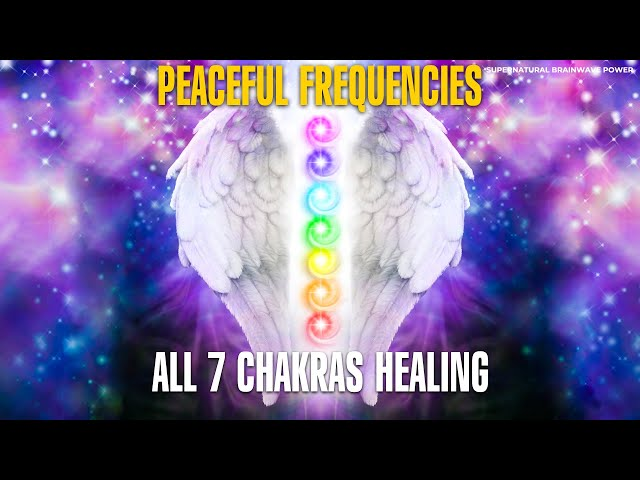 7 Chakras Cleansing Meditation Music | 444+432Hz Peaceful Frequencies | Miracle Chakra Healing Sleep