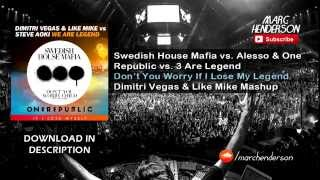 SHM vs. Alesso & One Republic vs. 3 Are Legend - Don