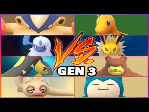 Download Youtube: GEN 3 POKEMON GO GYM BATTLES MAWILE ABSOL HARIYAMA SLAKOTH & MORE