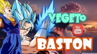 VEGETO (DRAGON BALL SUPER)-(BASTON PERSONAJE)