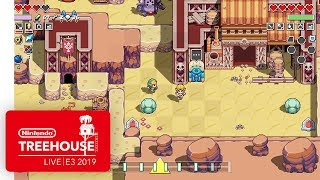 Download Cadence of Hyrule: Crypt of the NecroDancer Ft. The Legend of Zelda - Nintendo Treehouse: Live Mp3 and Videos